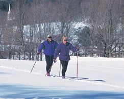 Vermont Cross country skiing
