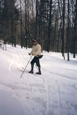 great cross country skiing in putney vermont